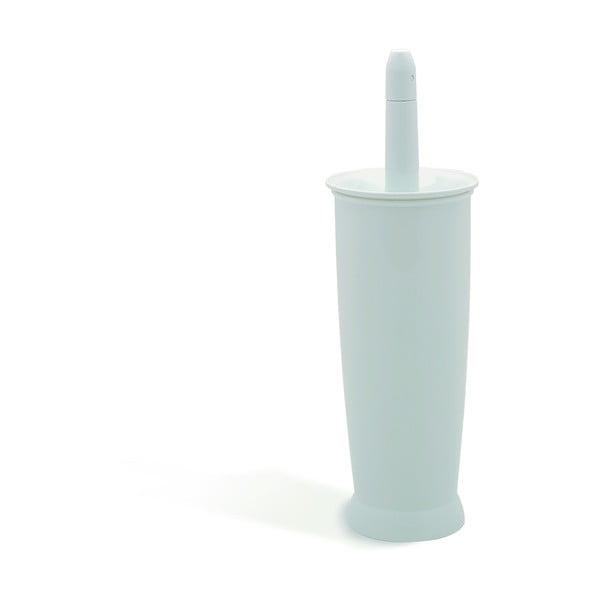Perie de toaletă Addis Closed Toilet Brush White, alb