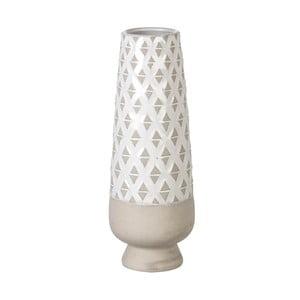 Váza Goblet Light Grey, 36x13 cm
