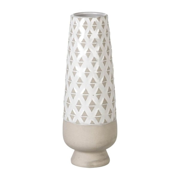 Váza Goblet Light Grey, 36x13 cm