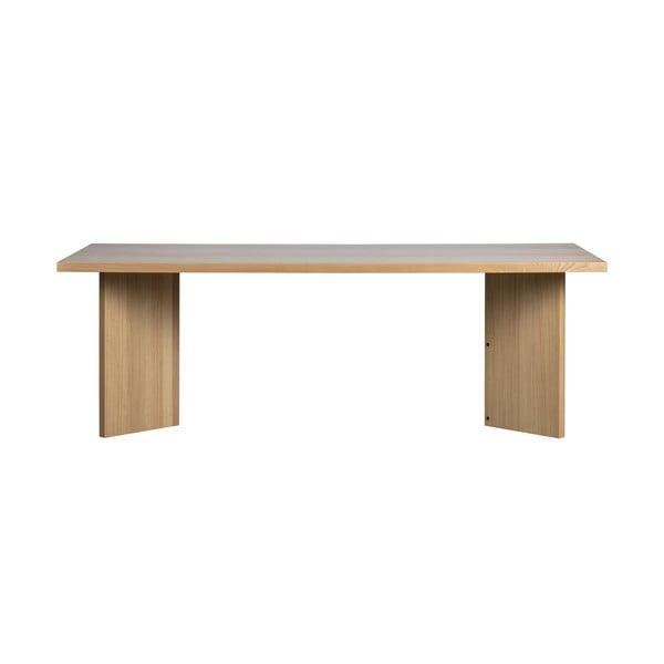 Angle étkezőasztal tölgyfa furnérral - vtwonen