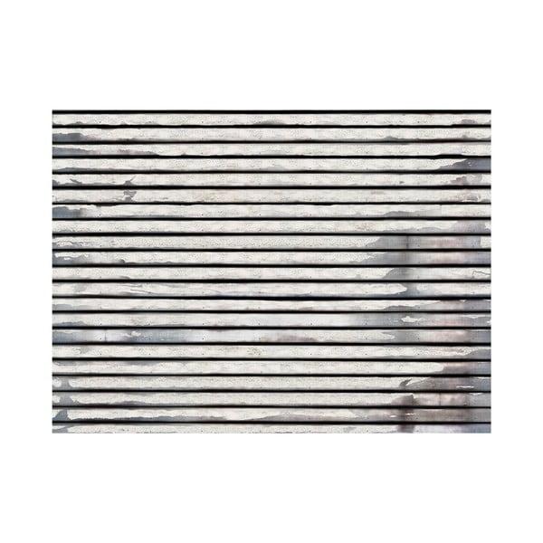 Velkoformátová tapeta Vodorovné laťky, 315x232 cm