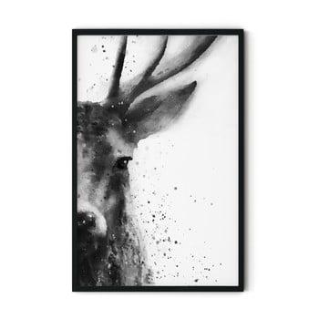 Tablou cu ramă Insigne Deer,70x110cm