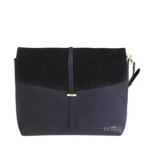 Kožená kabelka Ella, půlnoční modř