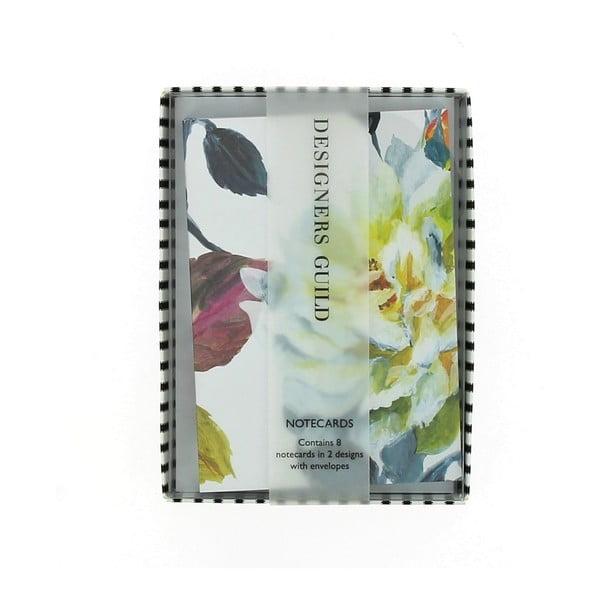 Sada 8 komplimentek Blueprint Collections Couture Rose