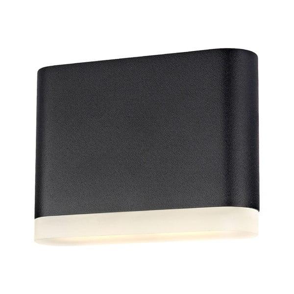 Čierne nástenné svietidlo Markslöjd Uno
