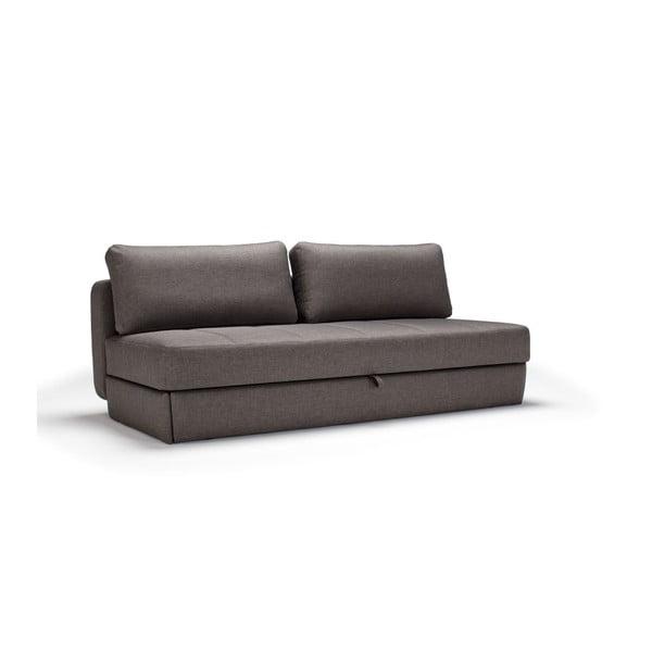 Svala Flashtex Dark Grey sötétszürke kihúzható kanapé - Innovation