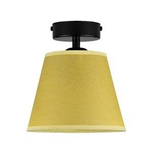 Žluté stropní svítidlo Sotto Luce IRO Parchment, ⌀16cm