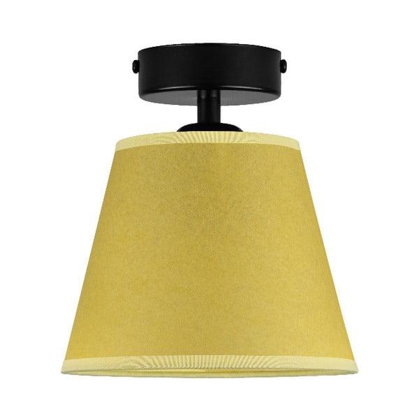 IRO Parchment sárga mennyezeti lámpa, ⌀ 16 cm - Sotto Luce