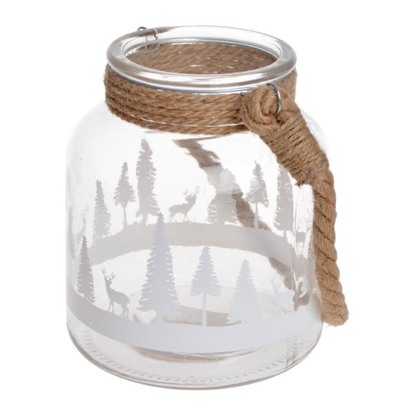 Skleněná lucerna Forest Big