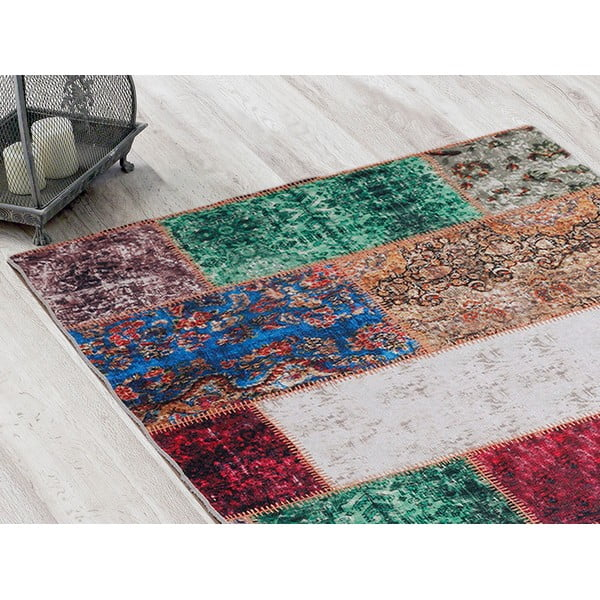 Koberec Patchwork Multicolor, 80x150 cm