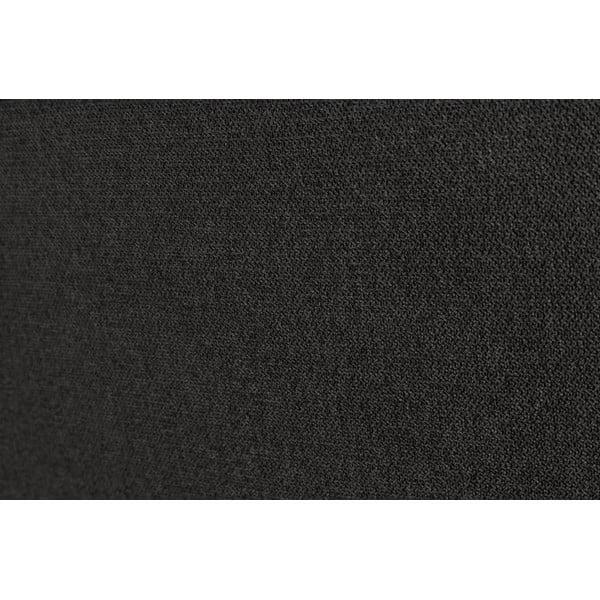 Černé čelo postele Windsor & Co Sofas UNIVERSE, 180x120cm