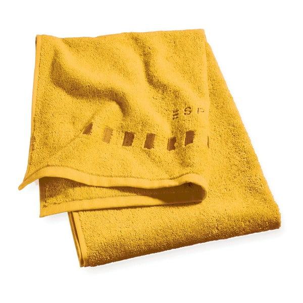 Hořčicový ručník Esprit Solid, 35x50cm