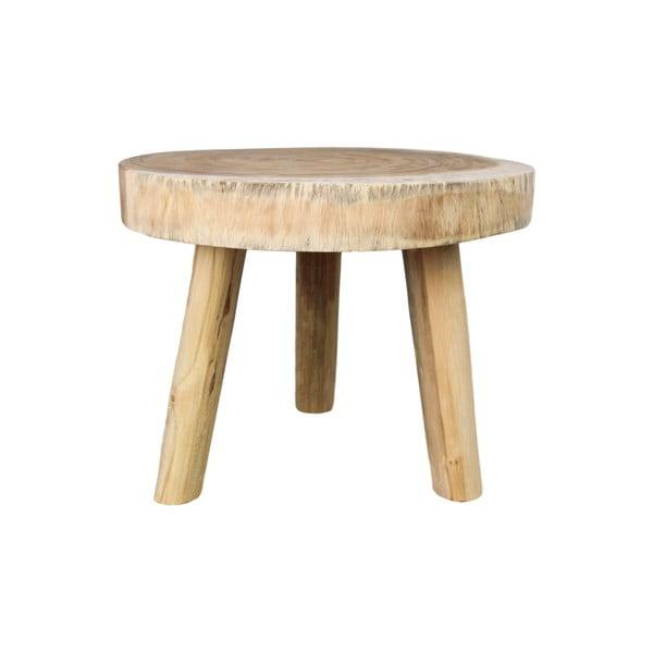 Munggur fa dohányzóasztal, ⌀ 45 cm - HSM collection