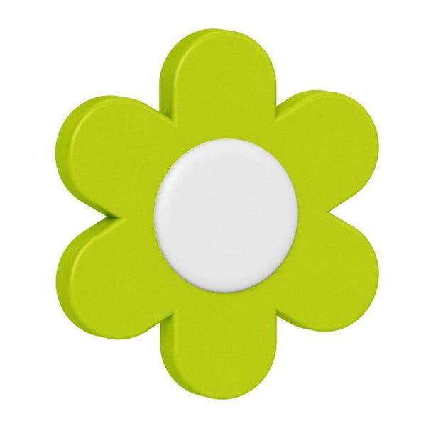 Dekorativní klipsy na květináč Flower Yellow/Green/Blue, 3 ks