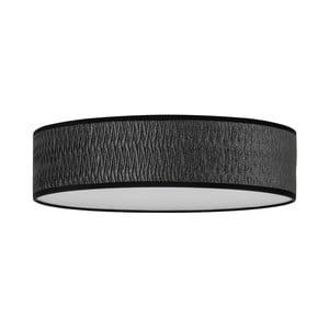 Černé stropní svítidlo Bulb Attack Once, ⌀ 40 cm