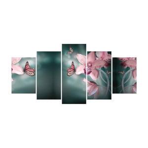 Vícedílný obraz La Maison Des Couleurs Butterflies