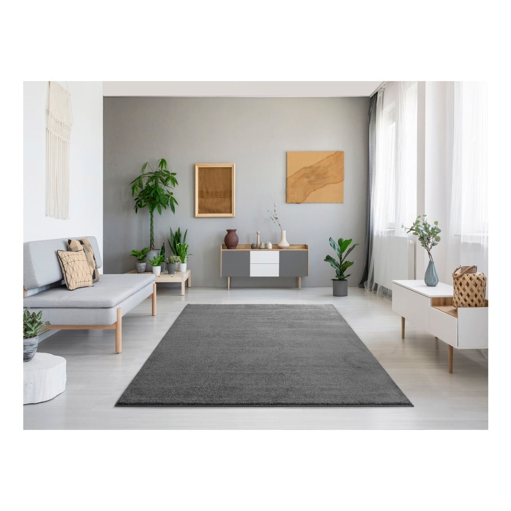 Produktové foto Tmavě šedý koberec Universal Montana, 140x200cm