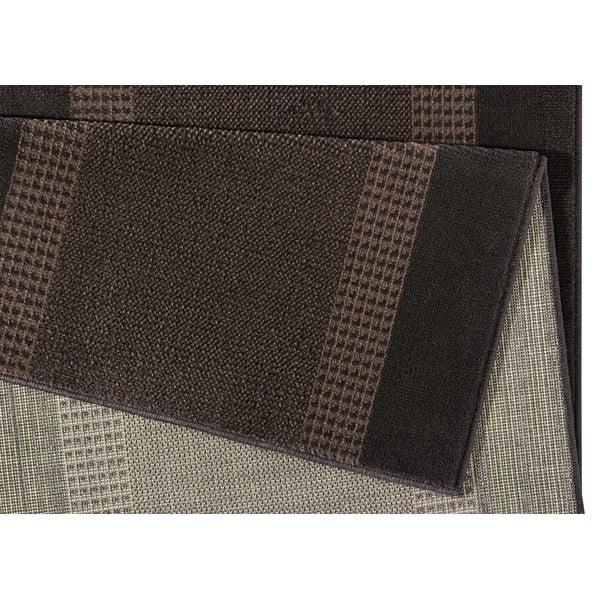 Covor Basic, 80x250 cm, maro