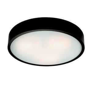 Černé kruhové stropní svítodlo Lamkur Plafond, ø 47 cm