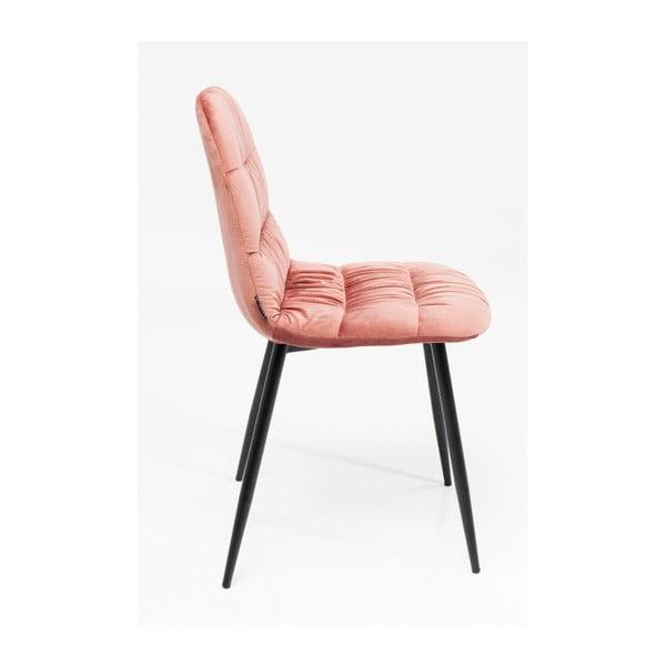 Sada 4 jídelních židlí s ocelovou konstrukcí Kare Design Berry