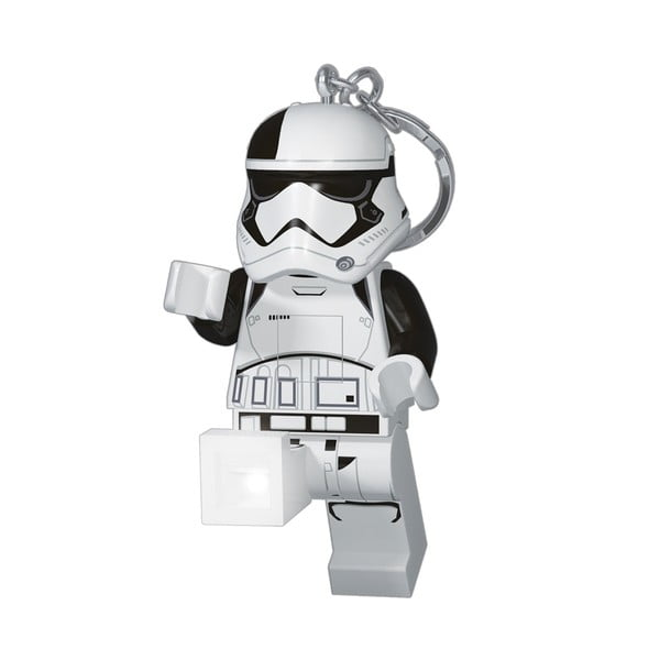 Svítící klíčenka LEGO® Star Wars First Order Stormtrooper