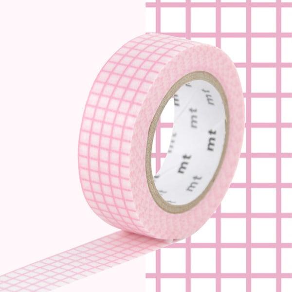 Bandă decorativă Washi MT Masking Tape Hannah, rolă 10 m