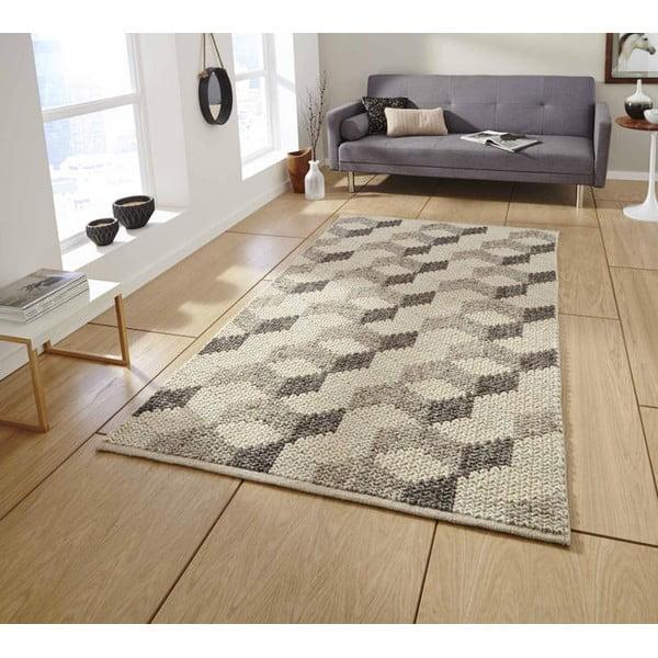 Ručně tkaný koberec Think Rugs Alpha Hex, 120x170cm