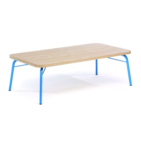 Ashburn dohányzóasztal, kék lábakkal - Woodman