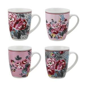 Sada 4 porcelánových hrnků Premier Housewares Pippa Mugs
