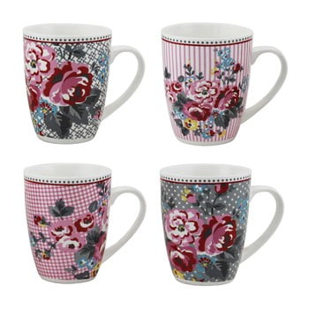 Set 4 căni din porţelan Premier Housewares Pippa Mugs