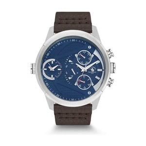 Pánské hodinky s koženým řemínkem Santa Barbara Polo & Racquet Club Cody