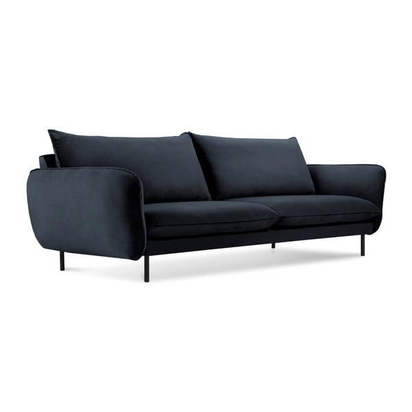 Vienna sötétkék négyszemélyes kanapé - Cosmopolitan Design