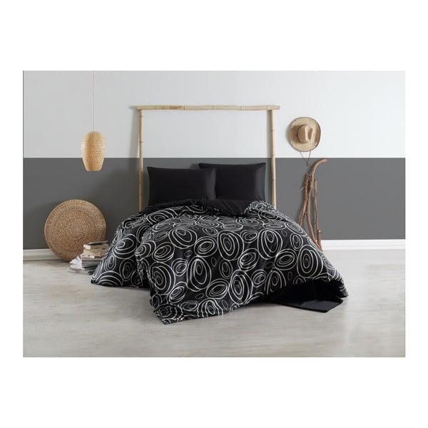 Lenjerie de pat cu cearșaf și 2 fețe de pernă Gaterria, 200 x 220 cm