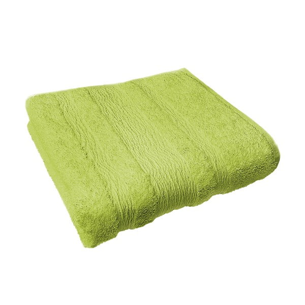 Osuška Ziczac 70x140 cm, zelená