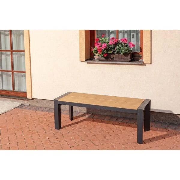 Ghenno kerti pad, hosszúság 130 cm - Timpana