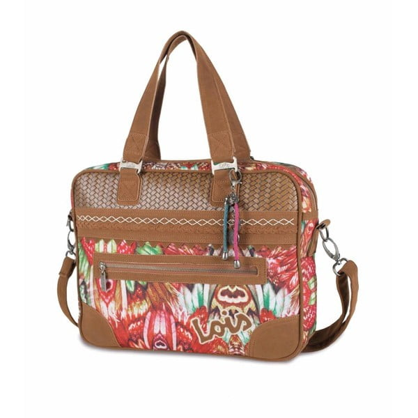 Barevná kabelka Lois, 38 x 29 cm