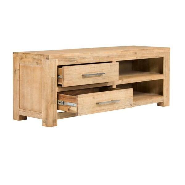 TV stolek z akáciového dřeva SOB Seaside