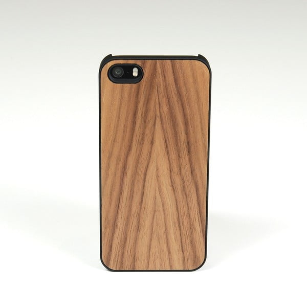 Dřevěný kryt na iPhone 5, ořech