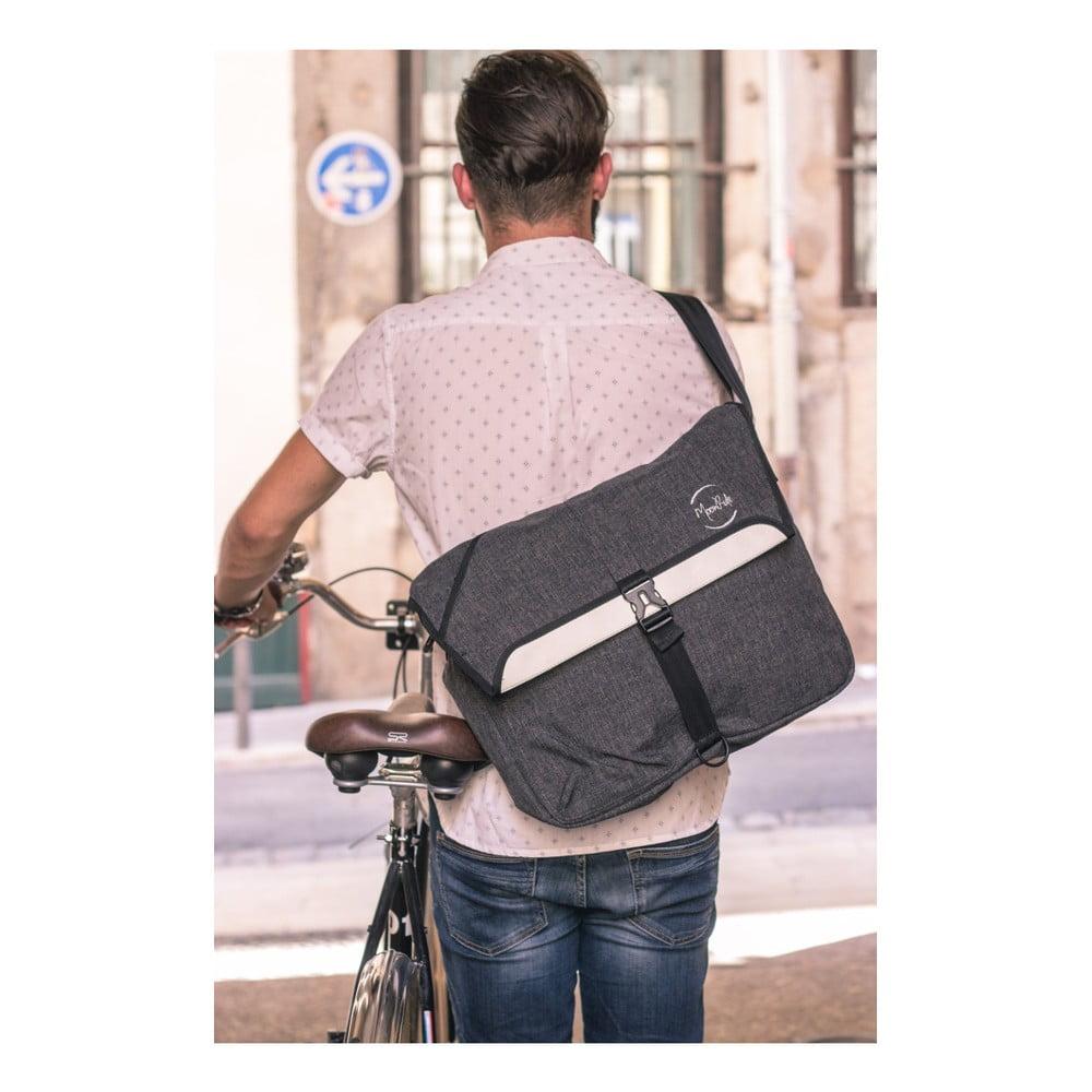 d3412635024 ... Reflexní cyklistická taška přes rameno MoonRide Go City ...