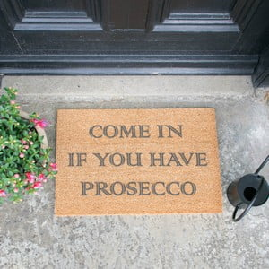 Rohožka Artsy Doormats Come In If you Have Prosecco, 40 x 60 cm