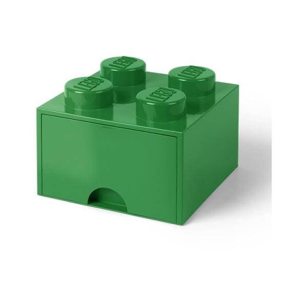 Zöld fiókos tárolódoboz - LEGO®