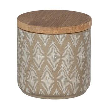 Doză din ceramică cu capac din lemn de bambus Wenko Tupian de la Wenko