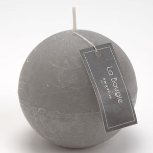Svíčka Big Sphere Grey