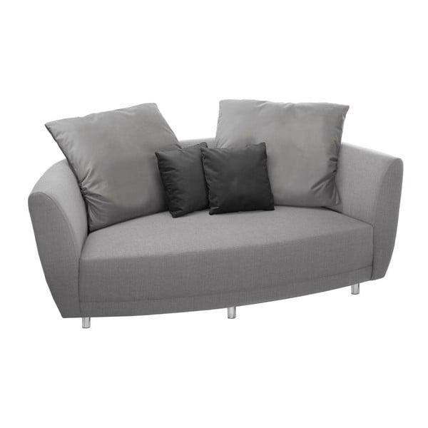 Canapea cu 2 locuri Florenzzi Viotti Light Grey/Anthracite