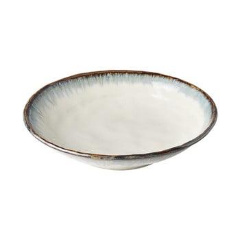 Farfurie adâncă din ceramică MIJ Aurora, ø 24 cm, alb