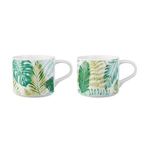 Sada 2 hrnků z porcelánu Price & Kensington Botanical,410ml