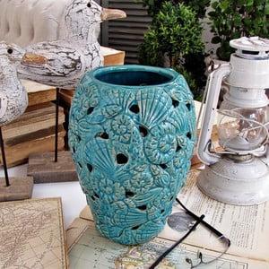 Váza Venice Turquise, 17x24 cm