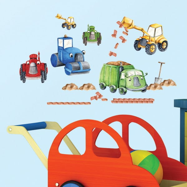 Dekorativní samolepka Tractors & Trucks