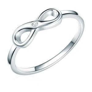 Stříbrný prsten s pravým diamantem Tess Diamonds Callum, vel.54
