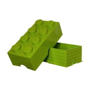 Limetkový úložný box LEGO®